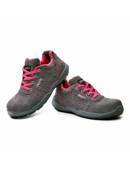 Zapato seguridad ultraligero y flexible para mujer. Modelo Attitude de Base Protection