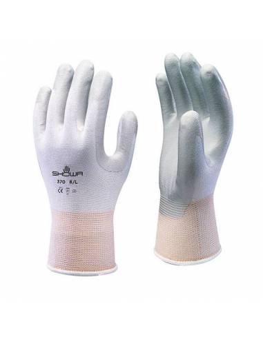 guantes de seguridad Showa 370 nitrilo agarre y tacto