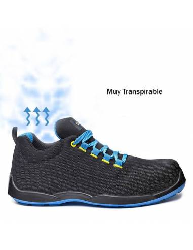 ZAPATOS DE SEGURIDAD TRANSPIRABLES BASE MARATHON B0677 S3