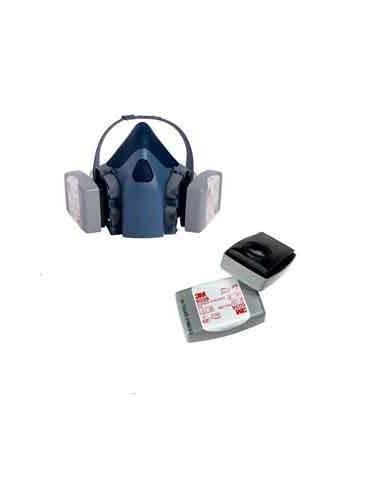 Filtro P3 R 3M 6038 - CAJA 2 UNID - Reutilizables Carbón Activo