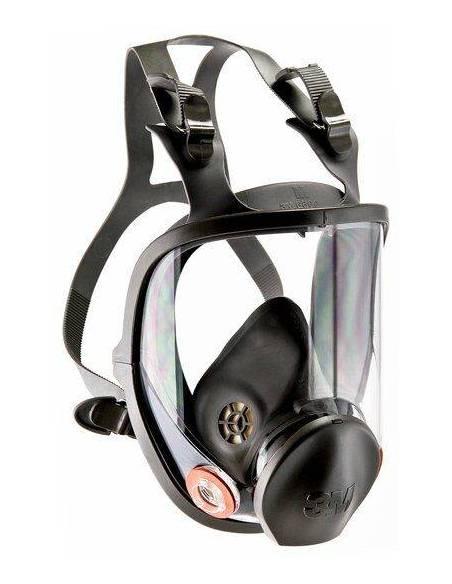 Máscara protectora respiratoria pantalla 3M 6800 Talla M