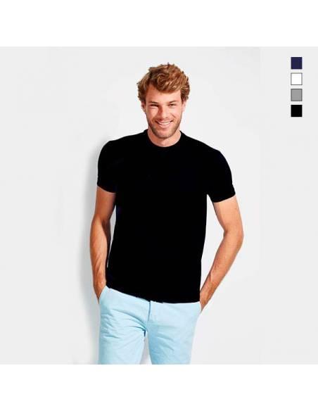 Camiseta básica para el trabajo manga corta 100% Algodón