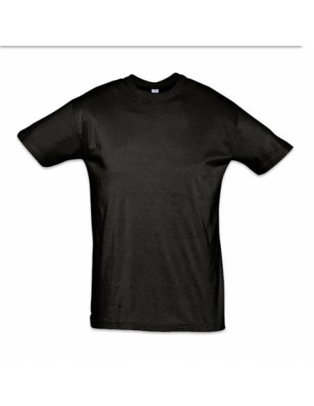 Camiseta basica para el trabajo manga corta color negro