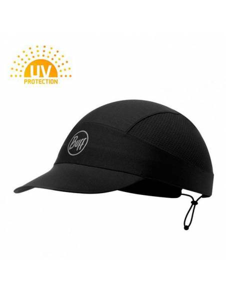 Gorra buff Pack Run Protección Rayos UV Ultra transpirable negra