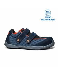 Zapatos de seguridad Swim Base B0620N S1P SRC muy transpirables cierre de velcro