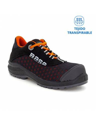 Zapato de seguridad Base Be Fit B0878 S1P SRC Transpirable, cómodo y flexible