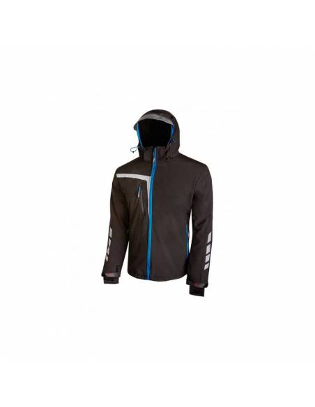 Chaqueta Softshell Stretch cortavientos transpirable impermeable Quick