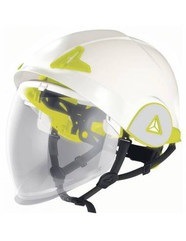 Casco de seguridad dieléctrico ONYX con visera retráctil integrada