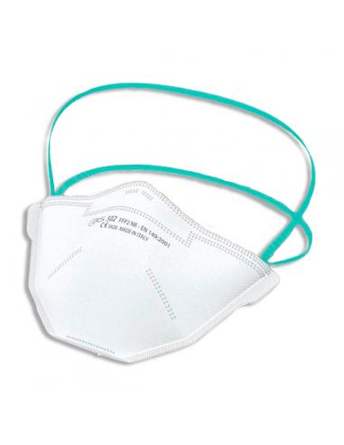 Mascarilla FFP2 BLS 502 Sin Válvula - Bolsa Individual - Elásticoa la cabeza
