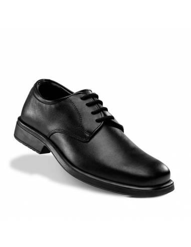 Zapatos de camarero de piel muy flexibles y antideslizantes - Fal 550SRB CI FO