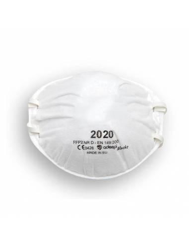 Mascarilla FFP2 Preformada Sin Vávula - Caja 10 Unid - ADEEPI MASKS 2020