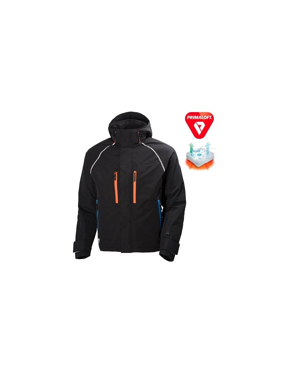 Chaqueta de invierno Artic Jacket negra y naranja de Helly Hansen ... eaf3a35e4527