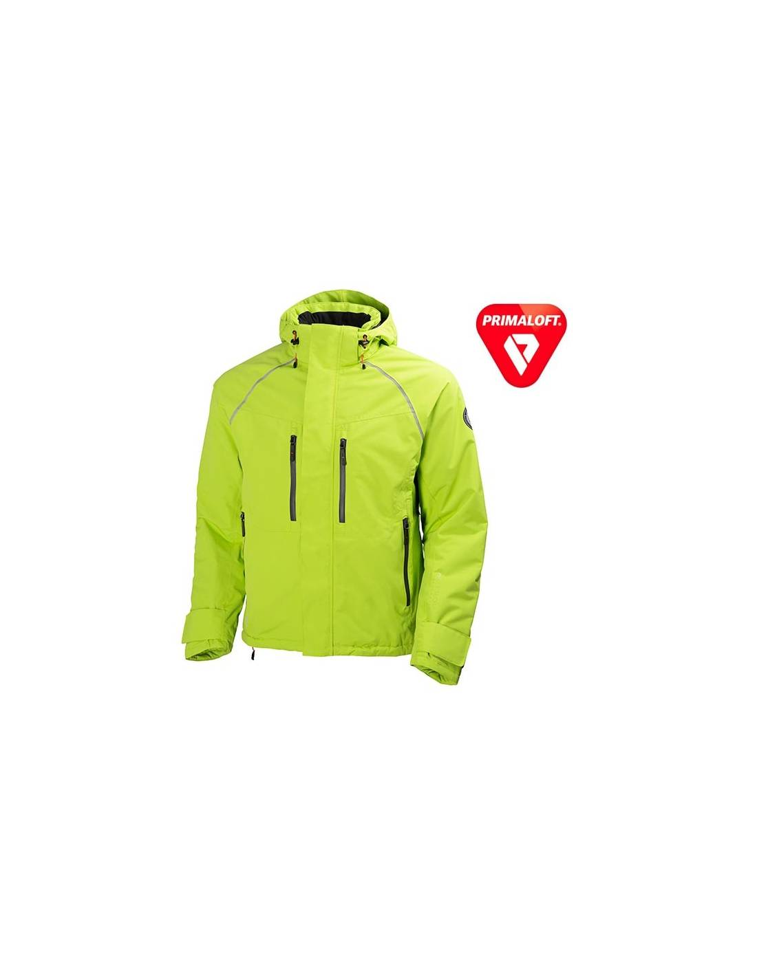 Chaqueta de invierno Artic Jacket verde lima de Helly Hansen COMPRAR ... b6228d8a2165