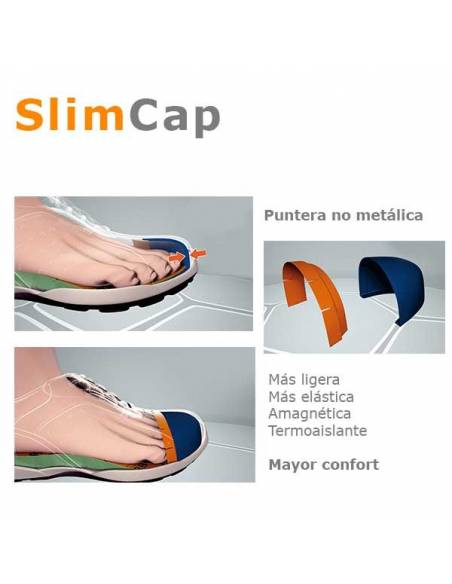ZAPATO DE SEGURIDAD BASE BE FIT B0878 S1P SRC CON PUNTERA SLIM CAP