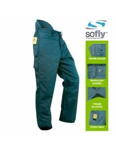 Pantalones anticorte forestales trabajos motosierra